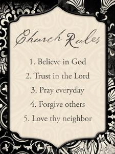 Church Rules by Jace Grey