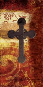 Cross On Red by Jace Grey