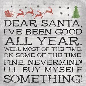 Dear Santa Nevermind Note by Jace Grey
