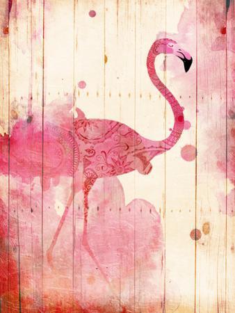 Flamingo Henna by Jace Grey