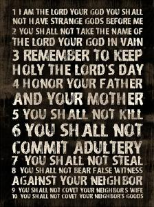 Full 10 Commandments by Jace Grey