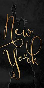 Golden New York No Stars by Jace Grey