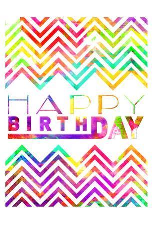 Happy Birthday Chevron