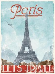 Lets Travel To Paris by Jace Grey