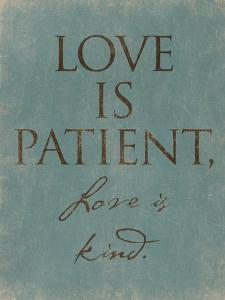 Love Is Patient by Jace Grey