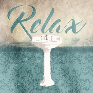 Relax Sink Teal by Jace Grey