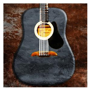 Rustic Acoustic Guitar by Jace Grey
