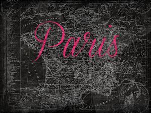 Script Paris Map by Jace Grey