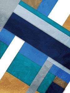 Stipe Overlay Blue by Jace Grey