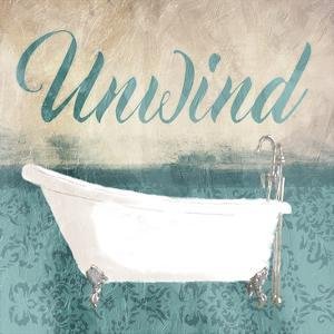 Unwind Bath Teal by Jace Grey