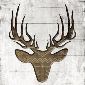 White Wood Deer Mate by Jace Grey