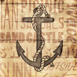 Wooden Anchor by Jace Grey
