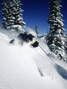 Downhill Skiing by Jack Affleck