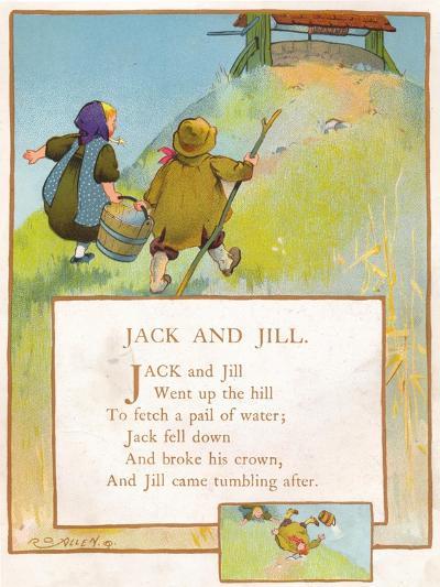 Jack and Jill, C1903-EA Keck-Giclee Print