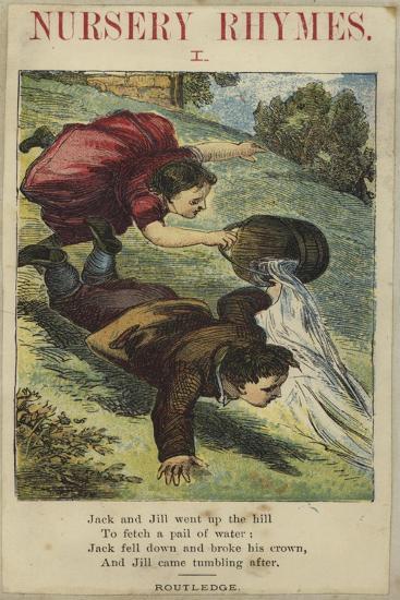Jack and Jill--Giclee Print