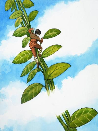 Jack and the Beanstalk-Nadir Quinto-Giclee Print