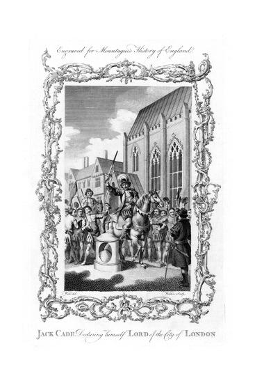 Jack Cade, English Rebel of Irish Extraction, 1450--Giclee Print