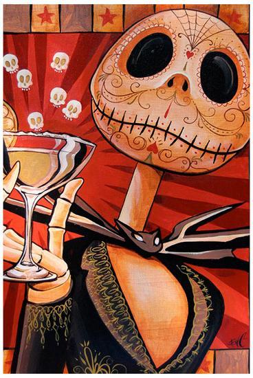 Jack Celebrates the Dead-Mike Bell-Art Print