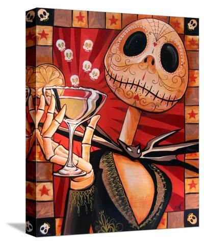 Jack Celebrates the Dead-Mike Bell-Stretched Canvas Print