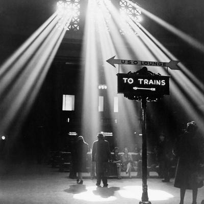 Chicago: Union Station, 1943