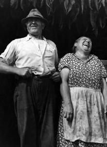 Mr. and Mrs. Andrew Lyman, Polish Tobacco Farmers by Jack Delano