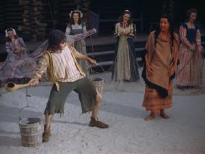 Actors Perform a Scene from a Play About the Lost Colony by Jack Fletcher