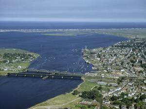Aerial View of the Mouth of Merrimack River by Jack Fletcher