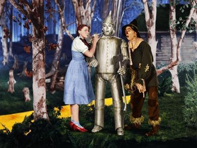 Judy Garland in a scene from the 1939 movie The Wizard of