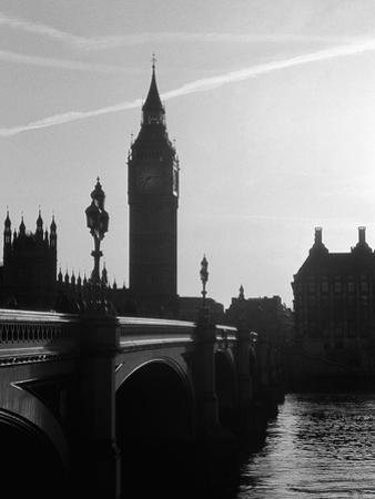 View of Big Ben from Across the Westminster Bridge by Jack Hollingsworth