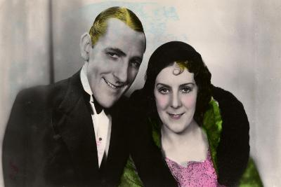 Jack Hulbert (1892-197) and His Wife Cicely Courtneidge (1893-198), English Actors, 20th Century--Giclee Print