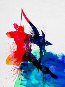 Hawkeye Watercolor by Jack Hunter