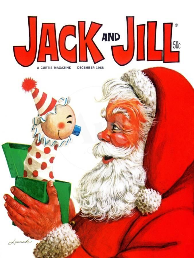 jack in the box jack and jill december 1968 giclee print by lesnak artcom - Jack In The Box Open Christmas Day