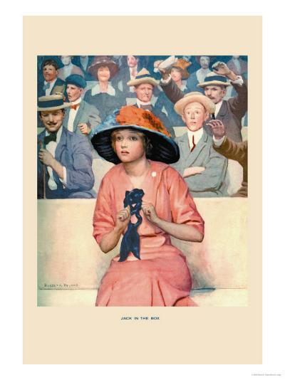 Jack in the Box-Robert K. Ryland-Art Print