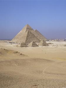 Pyramids at Giza, Unesco World Heritage Site, Near Cairo, Egypt, North Africa, Africa by Jack Jackson