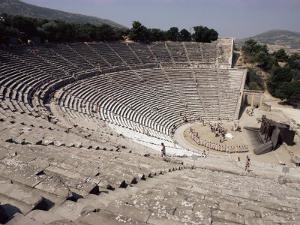 Restored Theatre, Epidaurus, Unesco World Heritage Site, Greece by Jack Jackson