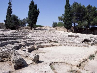 Roman Theatre, Alcudia, Majorca, Balearic Islands, Spain