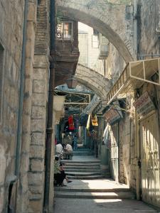 Via Dolorosa, Old City, Unesco World Heritage Site, Jerusalem, Israel, Middle East by Jack Jackson