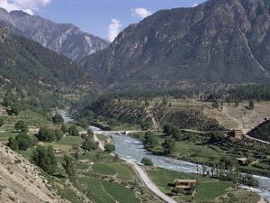 Village of Kacak, Northern Swat Valley, Pakistan by Jack Jackson