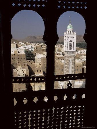 Wadi Hadramawt Say'Un, Yemen, Middle East