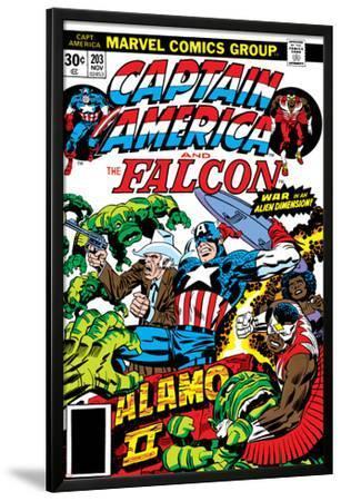 Captain America And The Falcon No.203 Cover: Captain America, Falcon, Marvel Comics and Thor