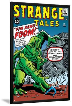 Journey Into Mystery No.62 Cover: Fin Fang Foom