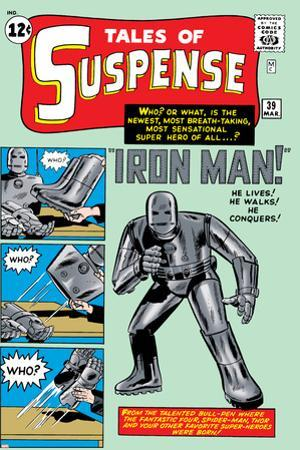 Tales of Suspense No.39 Cover: Iron Man