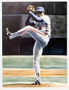 The Wind Up (New York Mets Dwight Gooden) by Jack Lane
