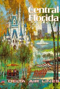 Central Florida - Orlando - Walt Disney World Resort - Delta Air Lines by Jack Laycox