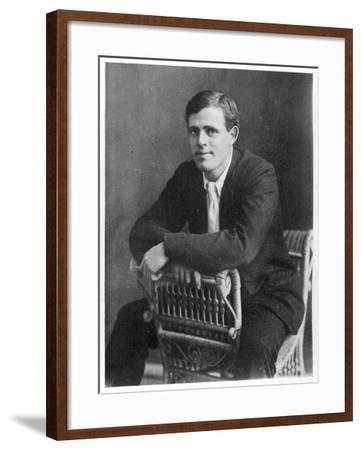 Jack London American Writer, in 1903--Framed Photographic Print