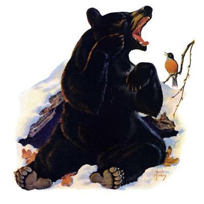 """End of Hibernation,""April 17, 1937 by Jack Murray"