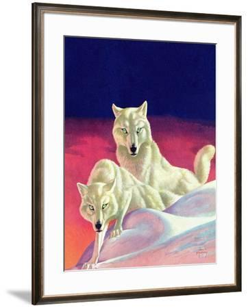 """""""White Wolves,"""" March 8, 1941 by Jack Murray"""