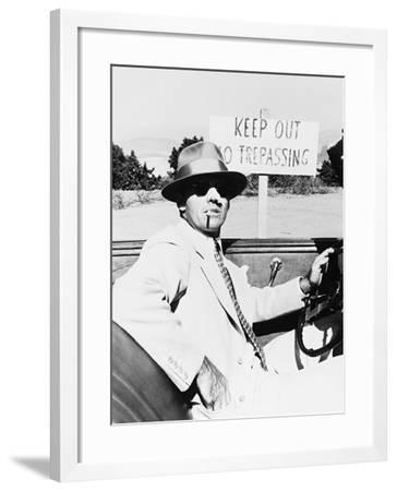 Jack Nicholson, Chinatown, 1974--Framed Photographic Print