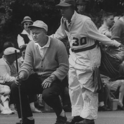 Jack Nicklaus During the Master Golf Tournament--Premium Photographic Print