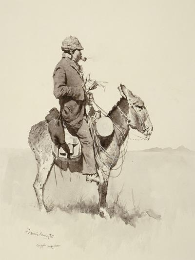 Jack's Man William, A Modern Sancho Panza-Frederic Sackrider Remington-Giclee Print
